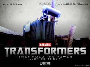 A not-so-major motion picture: TRANSFORMERS