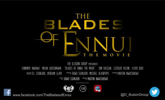 The Blades of Ennui (coming soon from The Illusion Company)